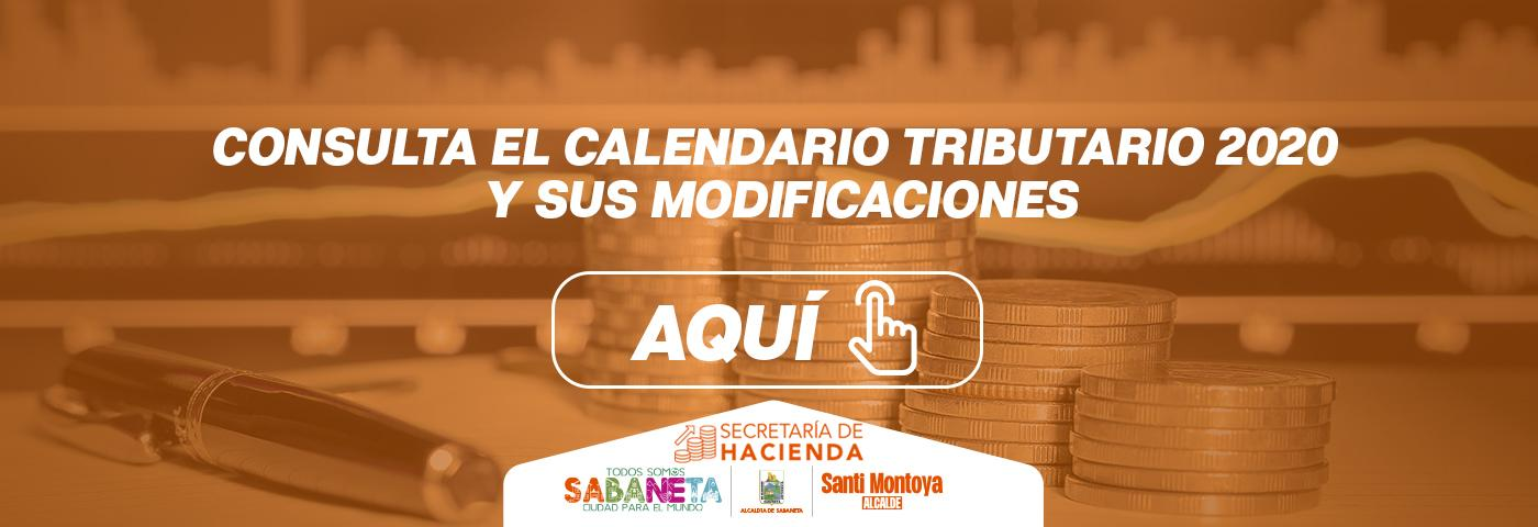 Modificacion Calendario Tributario